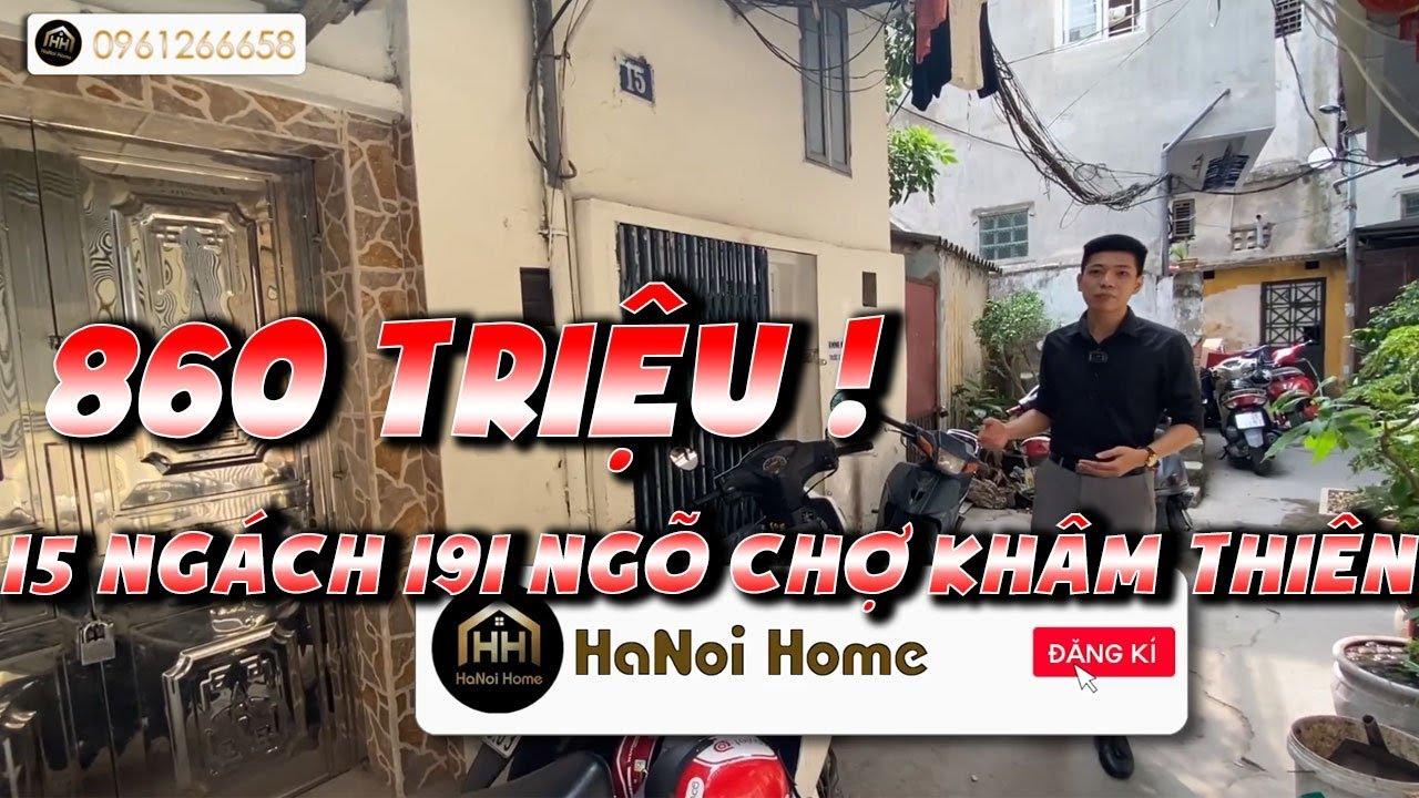 image Bán nhà giá rẻ phố Khâm Thiên - Đống Đa - Hà Nội