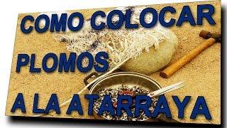 #Atarraya - INSTALACIÓN de PLOMOS para RED de PESCA ✔
