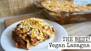 Lentil Vegan Lasagna