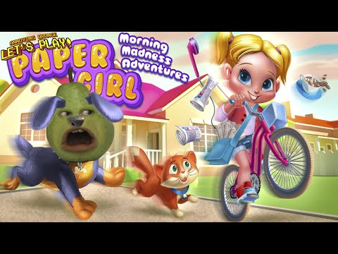 Pear is FORCED to Play - Morning Madness Adventures: PAPER GIRL