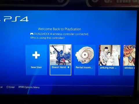 Cara share 1 game digital untuk 3 console ps4