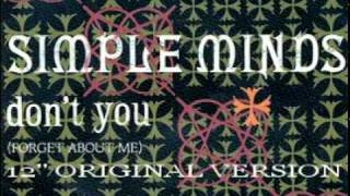Simple Minds Don T You Forget About Me 12 Original Version