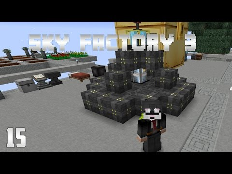 Sky Factory 3 EP15 - Void Ore Miner + The Beneath