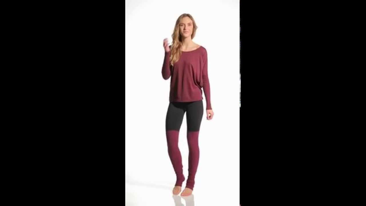 57f72192a0 Alo Goddess Ribbed Legging | SwimOutlet.com - YouTube