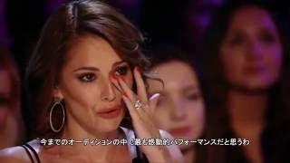 Josh Daniel sings Labrinth's Jealous The X Factor UK 2015 日本語字幕 凄腕プロデューサー・サイモン・コーウェルも涙