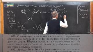 урок 141 (осн). Закон сохранения заряда