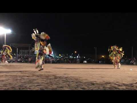 Luck of the draw: Men's Fancy Dance - 2018 Navajo Nation 4th of July Celebration PowWow