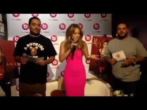 Jennifer Lopez AKA Album Release Party June 17th Beats Music Store in Soho NY