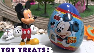 Disney Planes Thomas and Friends Mickey Mouse Surprise Eggs with Cars Toy Story and Sofia Toys