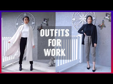 OFFICEWEAR OUTFITS I WEAR TO WORK – PART 2 | Aritzia, Uniqlo, Zara, H&M, Madewell