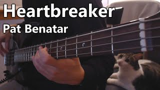 Pat Benatar - Heartbreaker (bass cover)