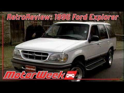 motorweek retro review 1996 ford explorer xlt v8 youtube. Black Bedroom Furniture Sets. Home Design Ideas