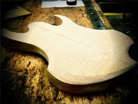 DIY 8-String - Part 2: Shaping the Body