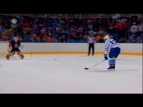 "Paul Ranger ""Kick"" Shootout Attempt  [1080P] (Toronto @ Buffalo 09/21/13)"