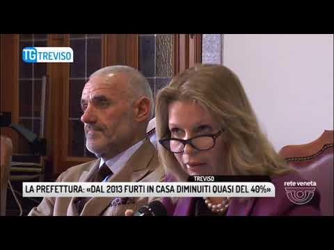 TG TREVISO (20/04/2018) - LA PREFETTURA: «DAL 2013 FURTI IN CASA DIMINUITI QUASI DEL 40%»