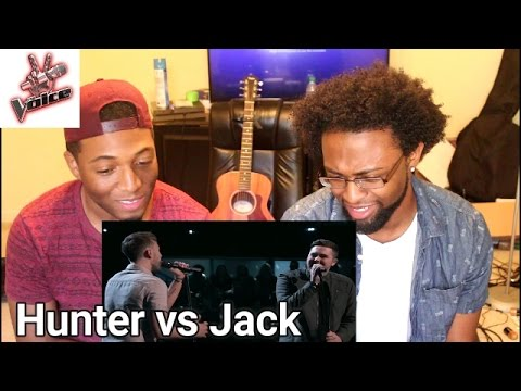 "The Voice Battle - Hunter Plake vs. Jack Cassidy: ""Dancing on My Own"" (REACTION)"