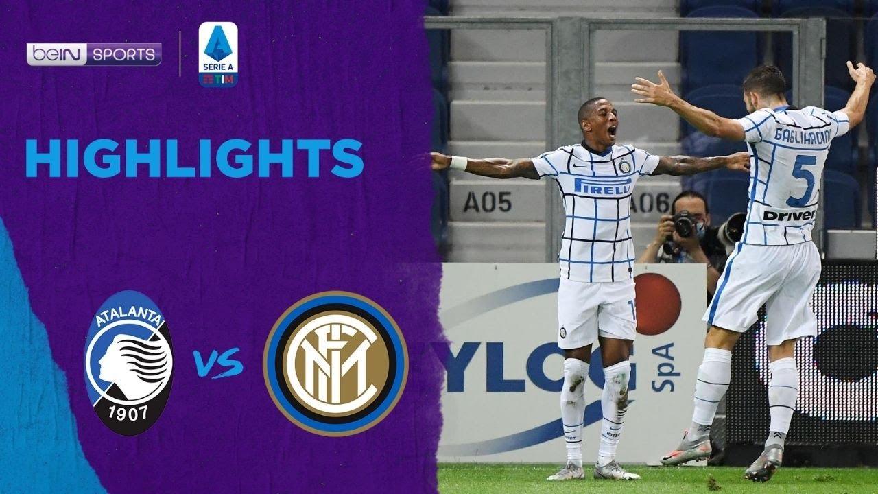อตาลันต้า 0-2 อินเตอร์ มิลาน   เซเรีย อา ไฮไลต์ Serie A 19/20