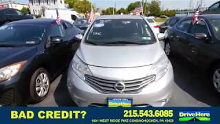 2015 Nissan Versa Note, 100% Application Review Policy