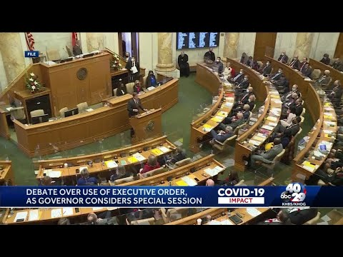 Debate over use of executive order, as Arkansas governor considers special session