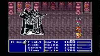 Final Fantasy V Anthology - Exdeath Battle