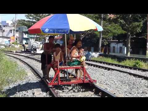 Amazing Train Track Taxis Manila Philippines Travel