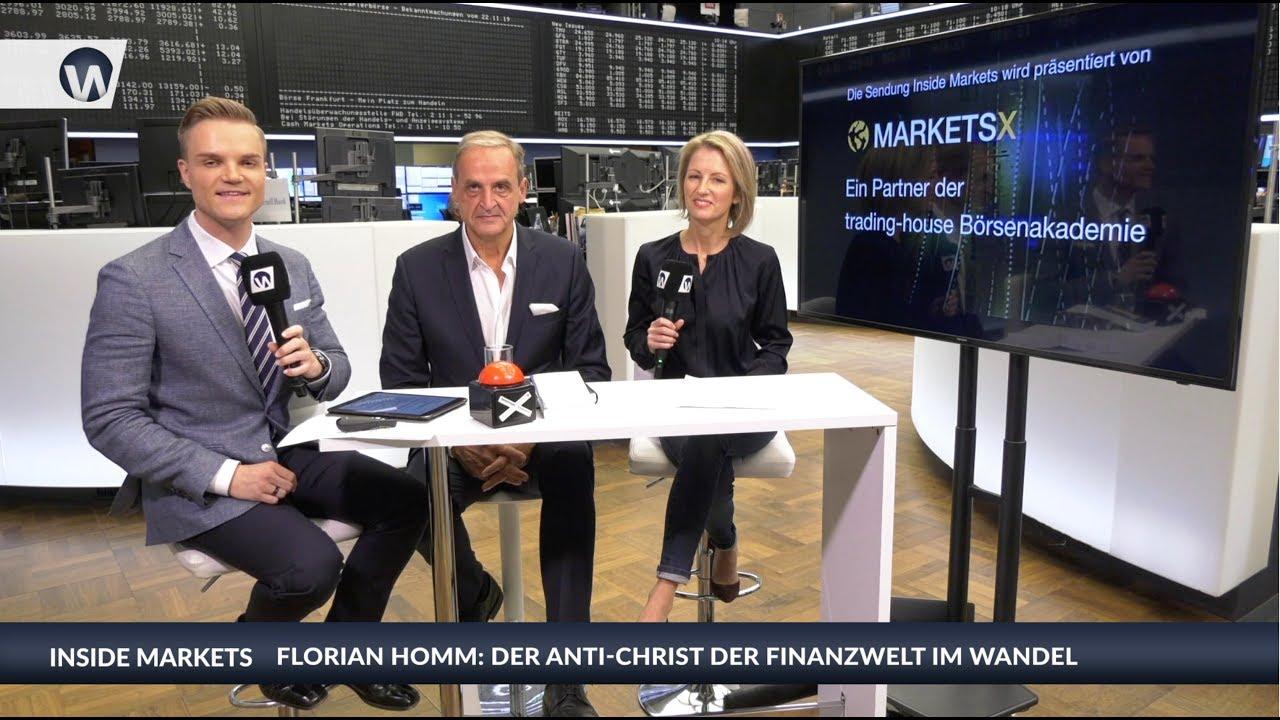 Inside MarketsX: Florian Homm - Der Anti-Christ der Finanzwelt im Wandel