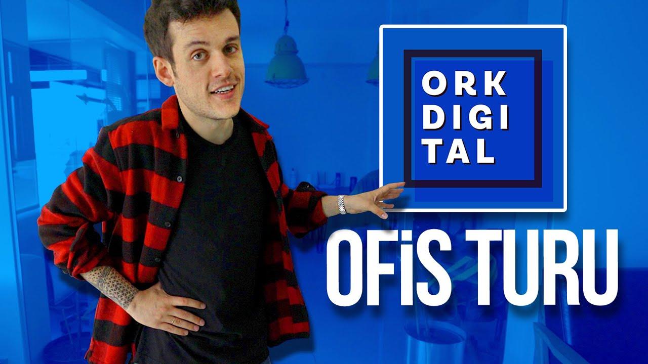 @Orkun Işıtmak OFİS TURU | ORK DIGITAL