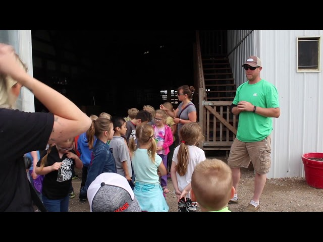 Learning about life on the farm