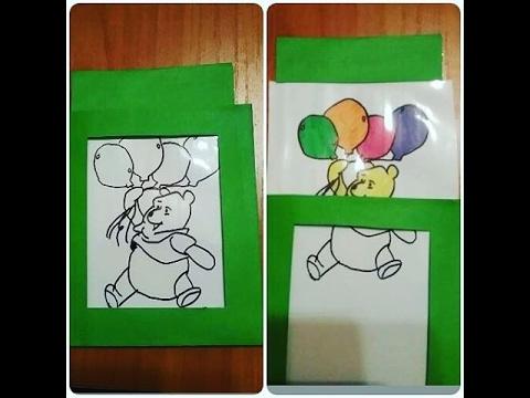 Открытка, как сделать фокус открытку на день рождения
