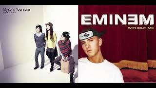 Blue Bird vs Without Me - Ikimonogakari vs Eminem (𝙈𝘼𝙎𝙃𝙐𝙋)