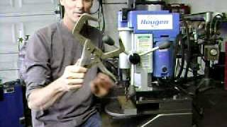 Magnetic Drill Made Into Small Drill Press