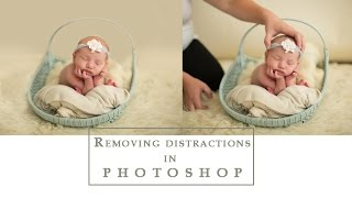 Removing distractions & backġround in Photoshop | A Tutorial