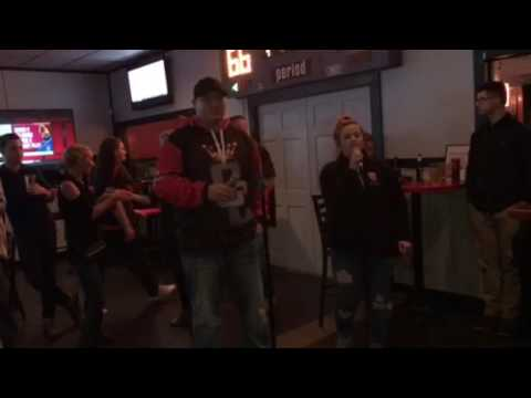 Ronnie and Rachel killing it(karaoke style)