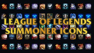 All League Of Legends Summoner Icons