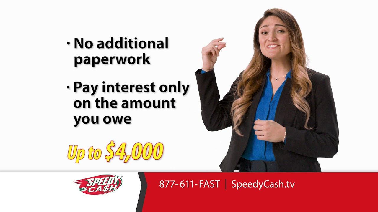 Image result for speedy cash line of credit