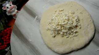 ИНГУШСКИЕ лепёшки с творогом(просто ,быстро и вкусно)короткие пошаговые рецепты.
