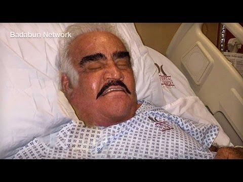 Vicente Fernández fue hospitalizado de emergencia. Su familia dio una terrible noticia…