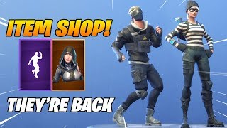 *NEW* RAPSCALLION SKIN & TWIST EMOTE ARE BACK! Fortnite Item Shop January 17, 2019