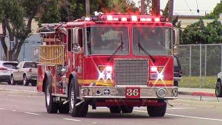 (New Engine) LACo.FD Engine & Squad 36, McCormick Amb. 1702