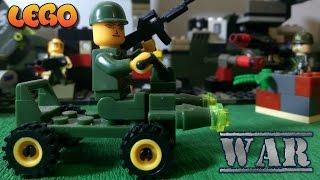 Мультик Лего Война, Перестрелка лего Игрушек #мультфильмы