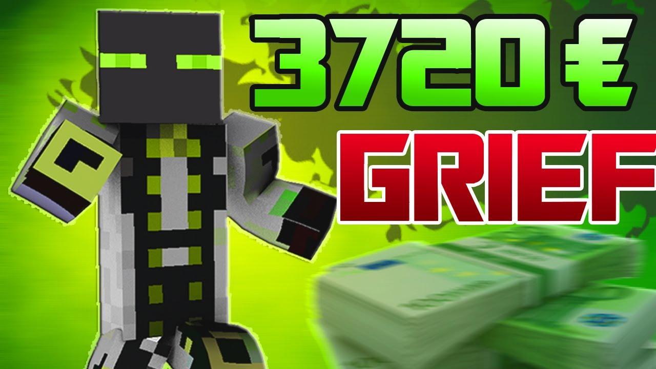 Deutsch Minecraft Griefing 3720 Ergrieft Youtube
