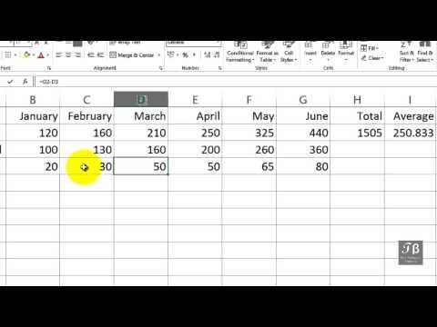 Excel Copying Formula To Adjacent Cells   Excel 2013 Beginners Tutorial