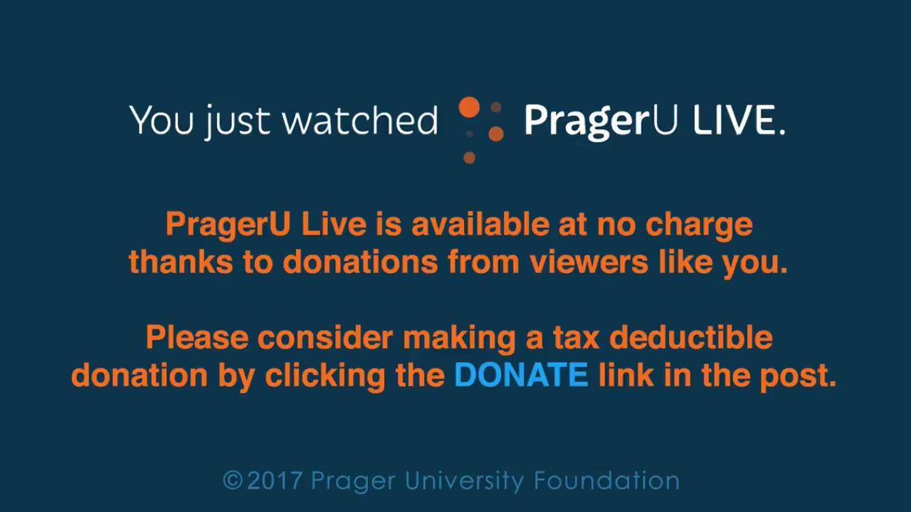 PragerU Live: Lachlan Markay (6/19/17)