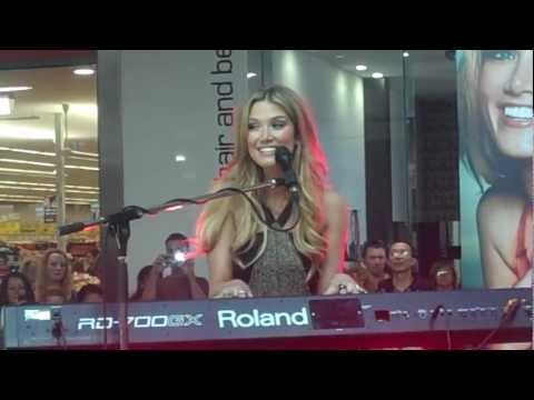 Delta Goodrem - Born To Try - Plenty Valley Westfield - April 13, 2012.