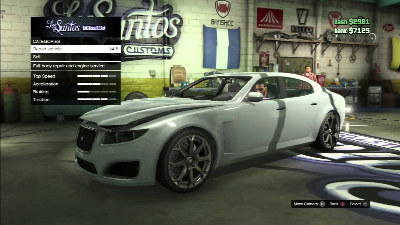 Grand Theft Auto 5: How to Sell your Car For Cash $4,000+! - YouTube