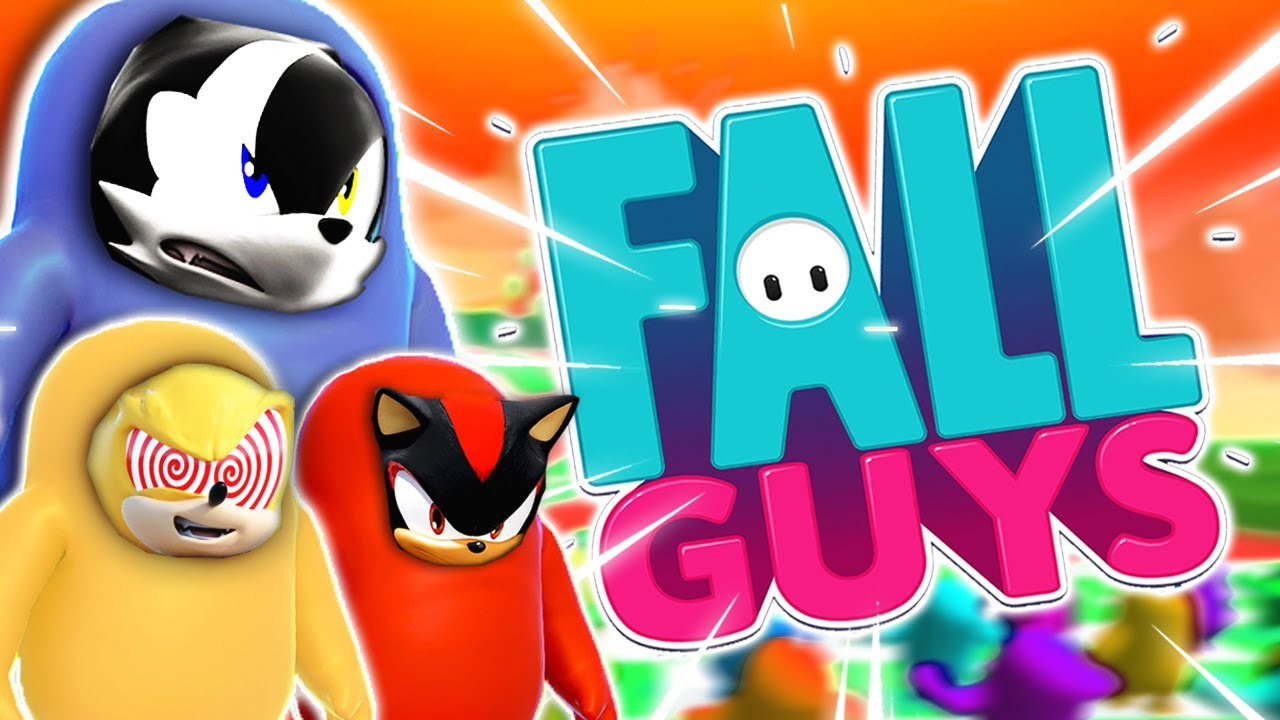 Infinite, Shadow & Fleetway Play FALL GUYS Part 1 - STRESSED!!!
