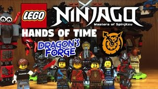 Lego NINJAGO Dragon´s Forge Set Review 70627 Hands of Time Minifigures Ray Maya
