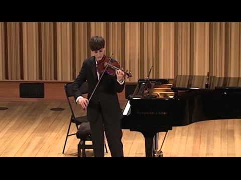 Joshua Brown - Bach Sonata No. 1, Siciliana & Presto