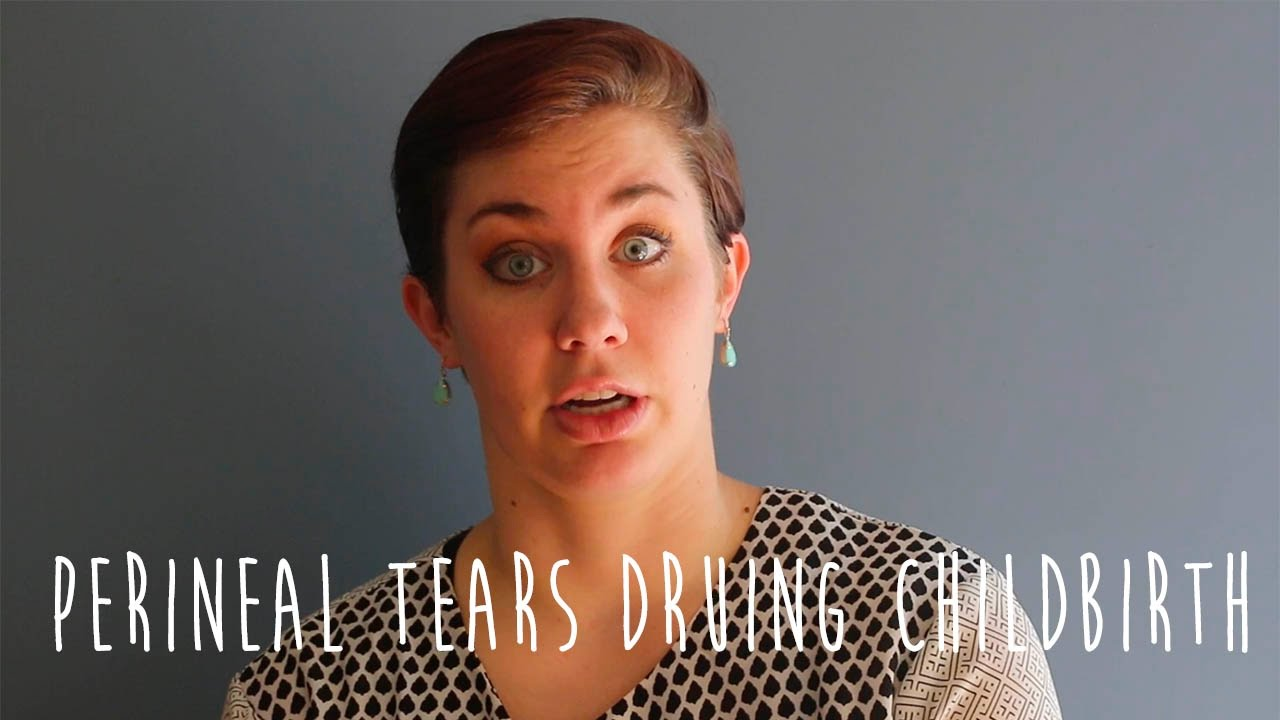 Experiencing a 2nd or 3rd degree perineal tear