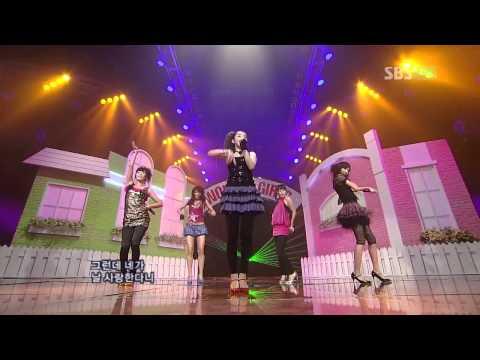 [HD] Wonder Girls Tell Me comeback @ Inkigayo 070909